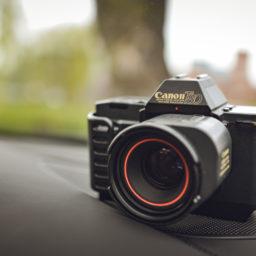 Pierwszy Canon z autofocusem czyli Canon T80