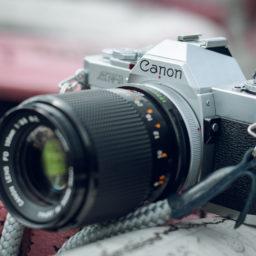 Canon AV-1 na Italian Trackday
