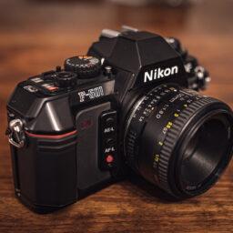 F-501: Pierwszy Nikon z seryjnym autofocusem