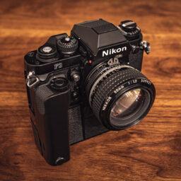Bez wymówek – Nikon F3 na torze